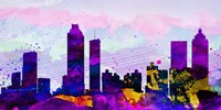 Atlanta City Skyline Fine-Art Print