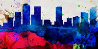 Denver City Skyline Fine-Art Print