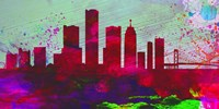 Detroit City Skyline Fine-Art Print