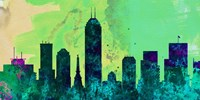 Indianapolis City Skyline Fine-Art Print