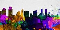 San Diego City Skyline Fine-Art Print