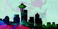 Seattle City Skyline Fine-Art Print