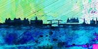 Amsterdam City Skyline Fine-Art Print