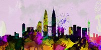 Kuala Lumpur City Skyline Fine-Art Print