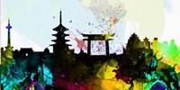 Kyoto City Skyline Fine-Art Print