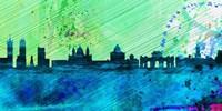 Madrid City Skyline Fine-Art Print