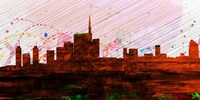 Milan City Skyline Fine-Art Print