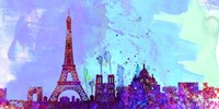 Paris City Skyline Fine-Art Print
