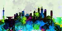 Shanghai City Skyline Fine-Art Print