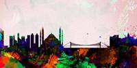 Istanbul City Skyline Fine-Art Print