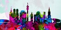 Munich City Skyline Fine-Art Print