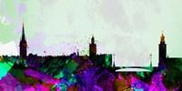 Stockholm City Skyline Fine-Art Print