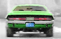 Dodge Challenger Rear Fine-Art Print