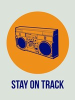 Stay On Track BoomBox 1 Fine-Art Print