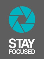 Stay Focused Circle 4 Fine-Art Print