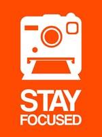 Stay Focused Polaroid Camera 3 Fine-Art Print