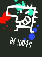 Be Happy 2 Fine-Art Print