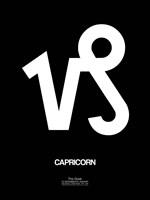 Capricorn Zodiac Sign White Fine-Art Print