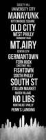 Streets of Philadelphia 2 Fine-Art Print