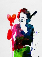 Santana Watercolor Fine-Art Print