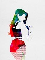 Iggy Watercolor Fine-Art Print