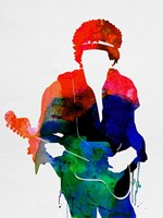 Jimi Watercolor Fine-Art Print