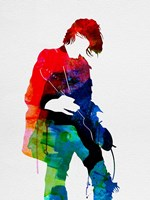 Kurt Watercolor Fine-Art Print