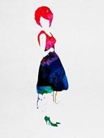 Diana Watercolor Fine-Art Print