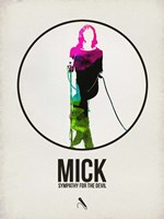 Mick Watercolor Fine-Art Print