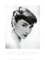 Audrey Hepburn - Screen Test, c.1955 Fine-Art Print