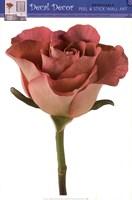 Single Rose Wall Decal