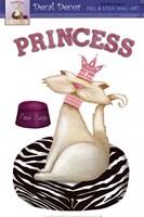 Princess Kitty Wall Decal