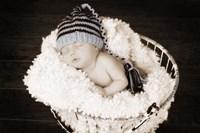 Baby in Wire Basket Fine-Art Print