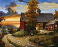 Farm Scene Fine-Art Print