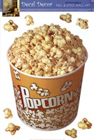 Movie Popcorn Wall Decal