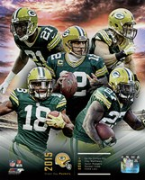 Green Bay Packers 2015 Team Composite Fine-Art Print