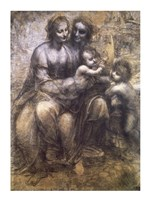 Virgin and Child with St. Anne and Infant St. John the Baptist Fine-Art Print