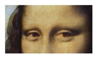 Mona Lisa - Detail Of Eyes Fine-Art Print