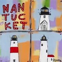Nantucket Lighthouses Fine-Art Print