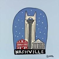 Nashville Snow Globe Fine-Art Print