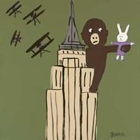 LaLa and King Kong Fine-Art Print