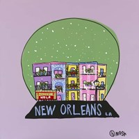 New Orleans Snow Globe Fine-Art Print