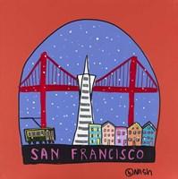 San Francisco Snow Globe Fine-Art Print