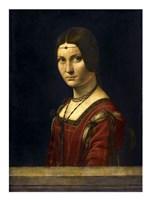 La Belle Ferroniere Fine-Art Print