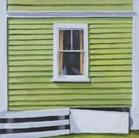 Green Window Fine-Art Print