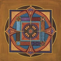 Time Mandala Fine-Art Print