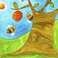 Bees Fine-Art Print