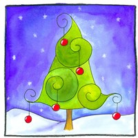 Christmas Tree Fine-Art Print