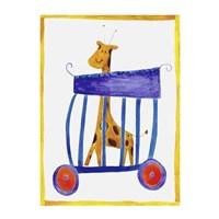 Circus Giraffe Fine-Art Print
