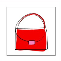 Red Purse Fine-Art Print